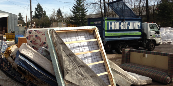 Junk Removal Portland Mattress & Metal Recycling