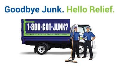 1-800-GOT-JUNK? | Full-Service Junk Removal