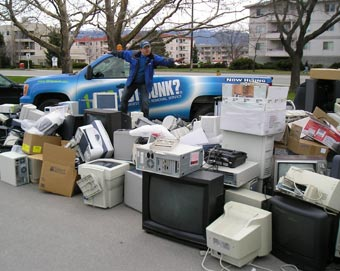 2009 E-Waste Event Pic #2
