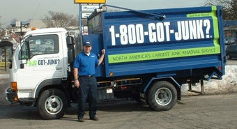 1-800-GOT-JUNK? Fairfield County's local junk removal expert, Christopher Kirk.