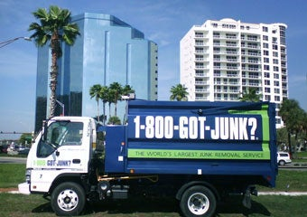 Junk trucks provide service from Sarasota to Marco Island