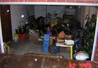 Junk in the garage before 1-800-GOT-JUNK? cleans up
