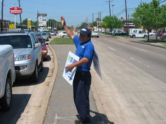 Give us a wave or honk if you see our 1-800-GOT-JUNK? team waving at you!