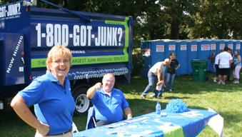 Lancaster's 1-800-GOT-JUNK? team volunteers at the March of Dimes