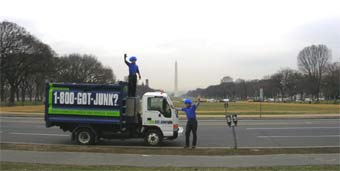 Washington's junk hauling team will take away your trash and unwanted items!