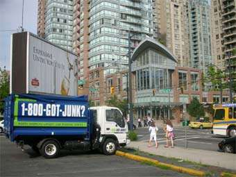 1-800-GOT-JUNK? removing junk in Yaletown