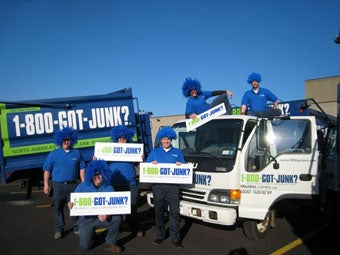 Rochester's 1-800-GOT-JUNK? junk removal team