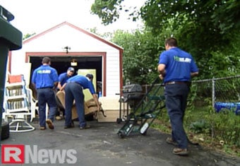 Rochester's junk removal team works out while they remove junk