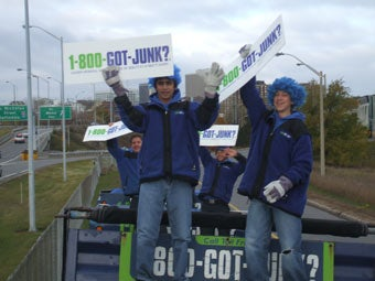 "Ottawa's 1-800-GOT-JUNK? team supports ""Take Child to Work Day"""