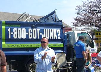 Worcester's 1-800-GOT-JUNK? team supports The Respite Center Marathon