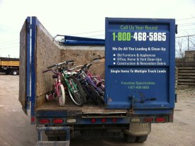 Old bikes donated to BWorks