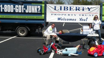 1-800-GOT-JUNK? and Liberty Property Trust Toy Drive at Horsham Location
