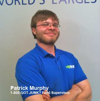 Patrick Murphy earns employee spotlight at 1800gotjunk?