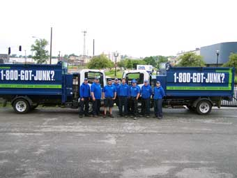 1-800-GOT-JUNK? St Louis Truck Team