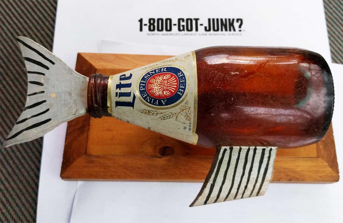Bottlefish beer bottle toy