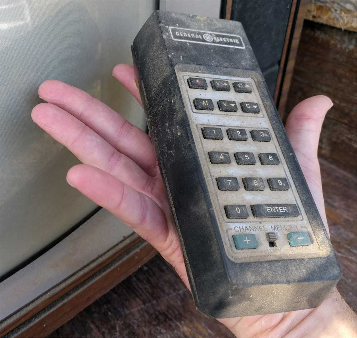 Big old styled remote control